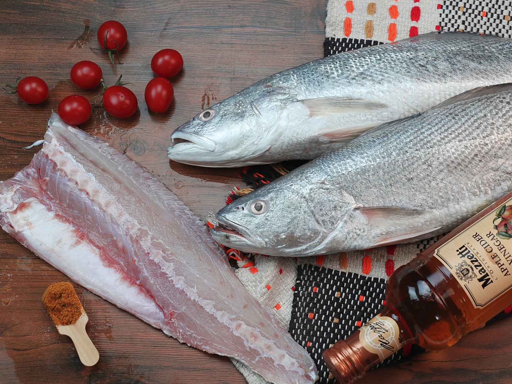 طبخ ماهی در خانه
